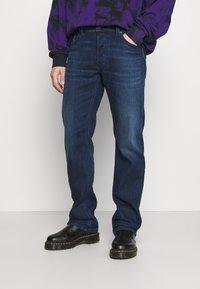 Diesel - LARKEE-X - Straight leg jeans - dark blue - 0