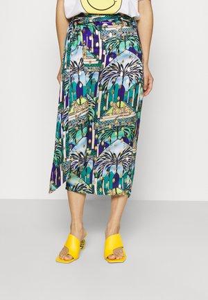 GAIA JASPRE SKIRT - Pencil skirt - blue