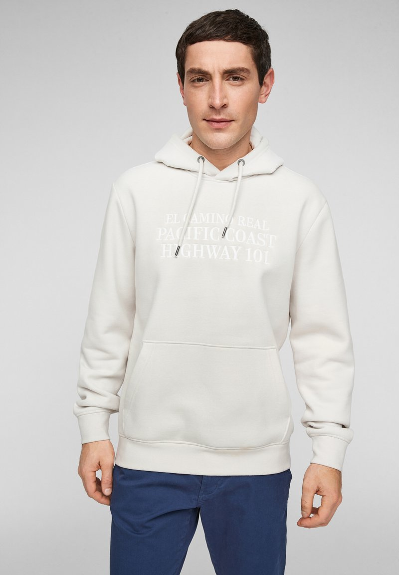 s.Oliver - Hoodie - offwhite