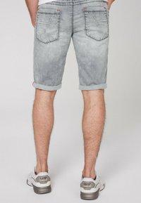 Camp David - Denim shorts - jogg grey - 2
