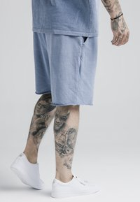 SIKSILK - RELAXED - Kraťasy - washed blue - 4