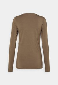 ARKET - LONGSLEEVE - Long sleeved top - taupe - 1