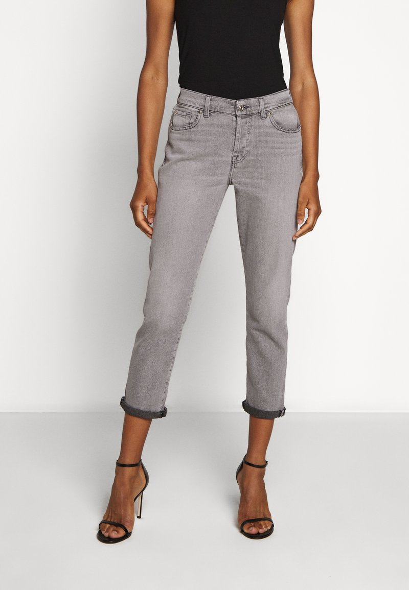 7 for all mankind - ASHER LUXE VINTAGE OFF DUTY - Slim fit jeans - grey