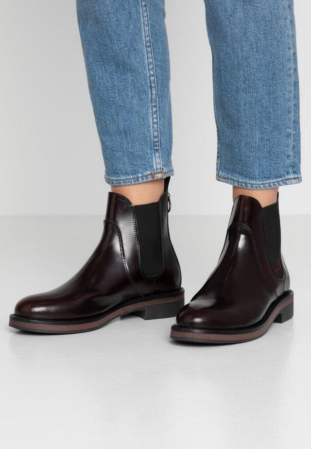 MALIN - Classic ankle boots - bordeaux