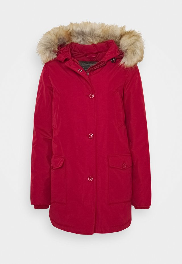 LINDSAY - Down coat - chili pepper