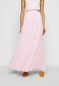 STUDIO ID - LONG SKIRT - Maxi sukně - pale pink - 0
