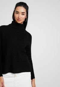 ONLY - ONLJADE ROLLNECK - Svetr - black - 3