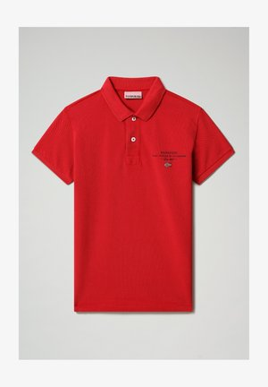 Polo shirt - old red