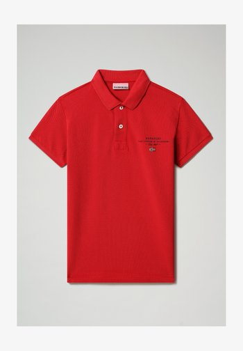 Poloshirts - old red