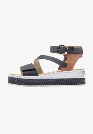 Platform sandals - pacific-cognac