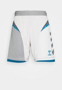 Hummel - HMLINVICTA GAME SHORTS - Sports shorts - gray violet/sharkskin - 4