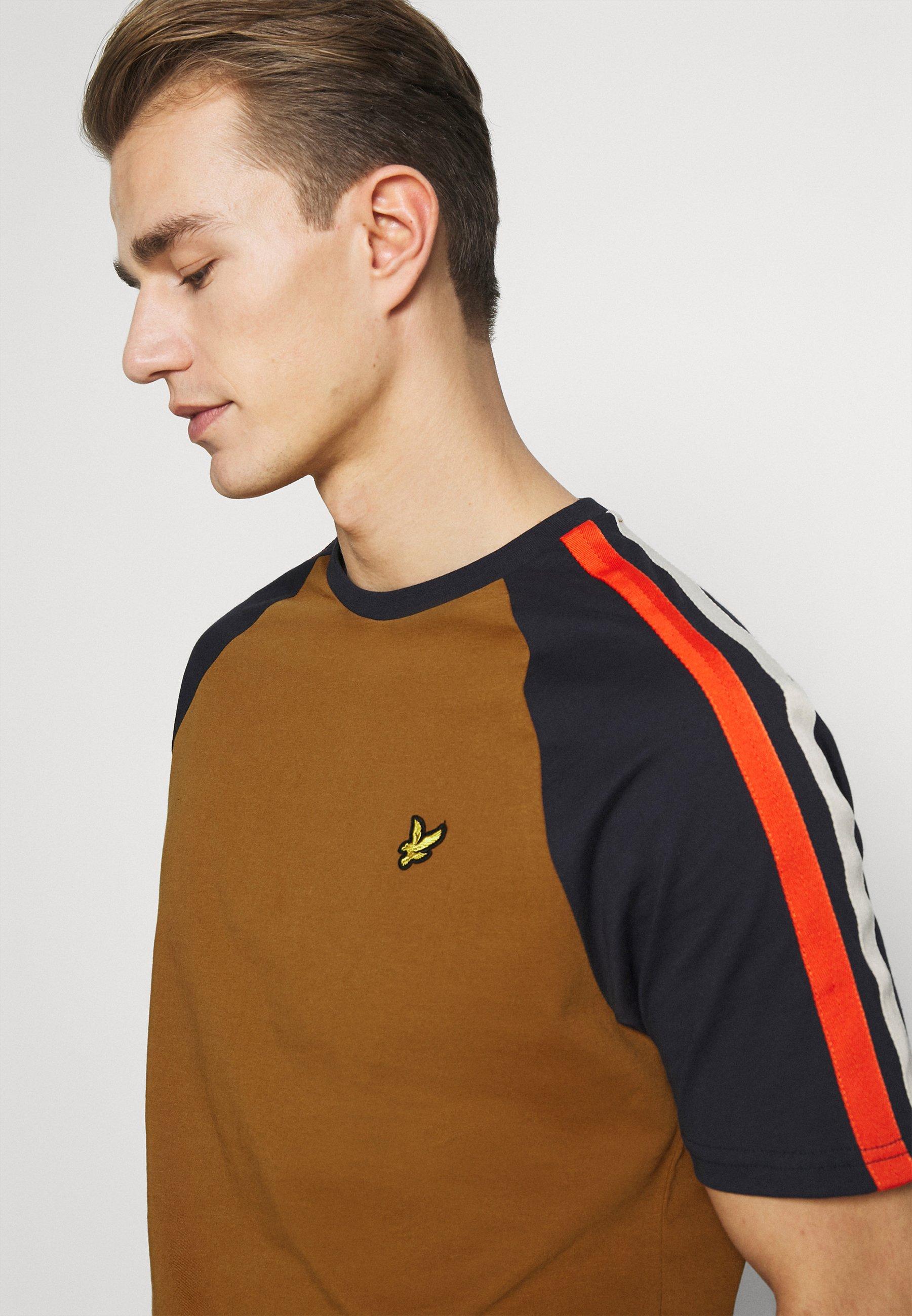 Men COLOUR BLOCK - Basic T-shirt