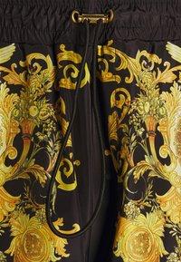 Versace Jeans Couture - PRINT BAROQUE - Tracksuit bottoms - black - 6