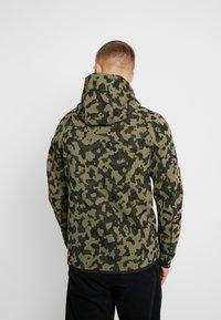 Nike Sportswear - HOODIE  - Felpa aperta - medium olive/black - 2