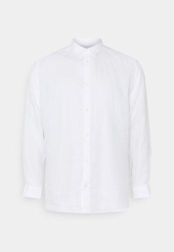 ONSKARLO - Vapaa-ajan kauluspaita - white