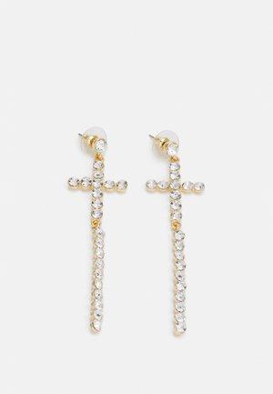 CROSS - Earrings - gold-coloured