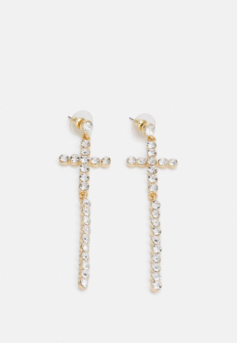 sweet deluxe - CROSS - Orecchini - gold-coloured