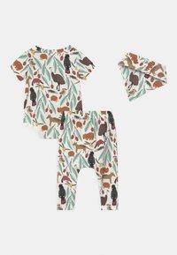 Cotton On - SET UNISEX - Print T-shirt - vanilla - 1