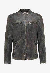 Carlo Colucci - Leather jacket - grey - 4