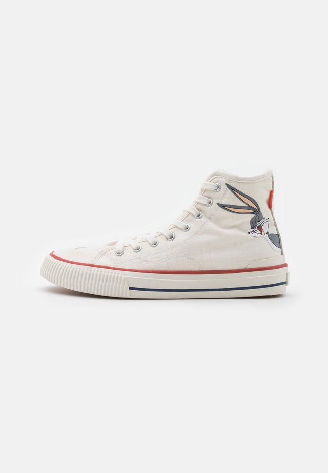 EXCLUSIVE COLLECTOR LOONEY - Sneakers high - white