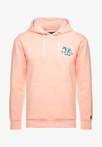 Common Kollectiv - UNISEX BACK PRINTED SLOGAN DREAM HOODIE - Bluza z kapturem - pink - 5