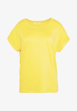 ONLMOSTER ONECK - T-shirt basic - yolk yellow