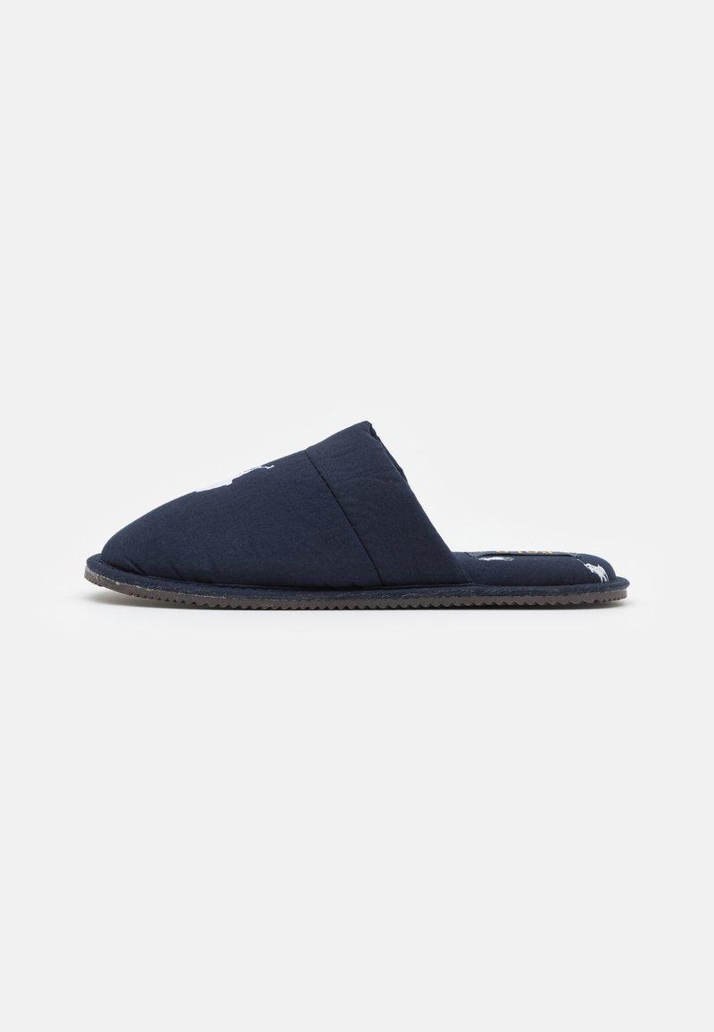 Polo Ralph Lauren - KLARENCE  - Slippers - navy/white