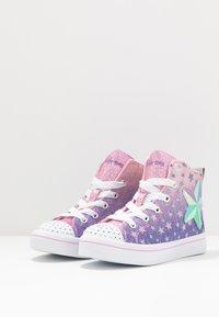 Skechers - LITES - Vysoké tenisky - light pink - 2