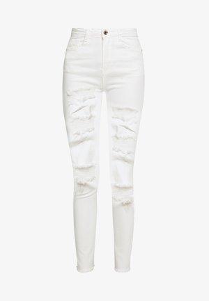 SINNER EXTREME - Skinny džíny - white