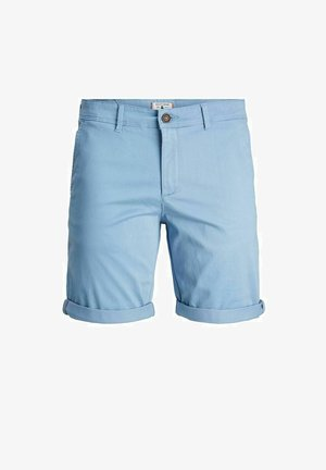 Shorts - faded denim
