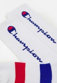 Champion - ROCHES 2 PACK UNISEX - Sports socks - white - 1
