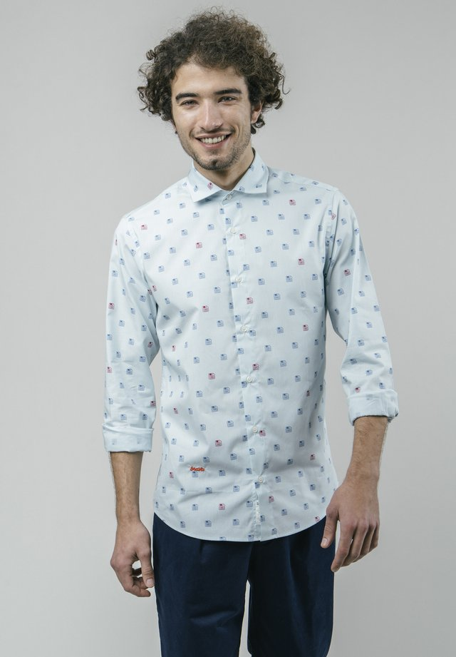 DISKETTES - Camicia - blue