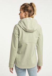 Schmuddelwedda - Soft shell jacket - pastelloliv - 2