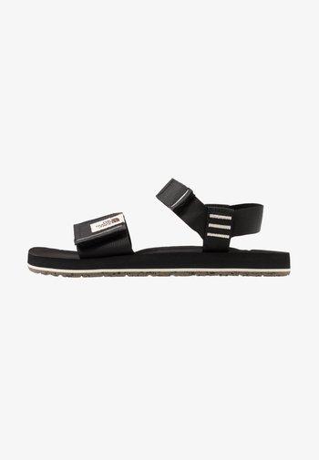 W SKEENA SANDAL - Walking sandals - black/vintage white