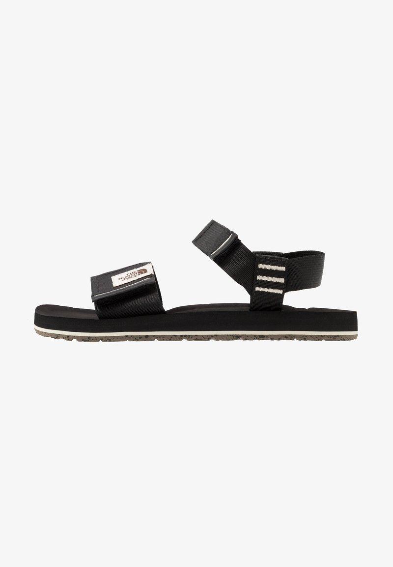The North Face - W SKEENA SANDAL - Walking sandals - black/vintage white