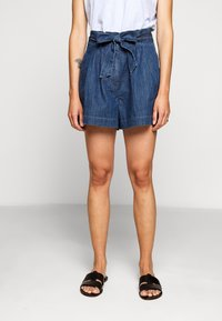J.CREW - PAPER BAG - Denim shorts - santa ana wash - 0
