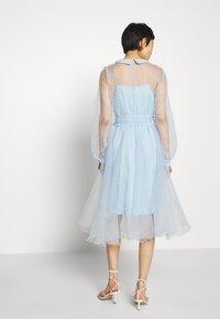 Custommade - LIDI DRESS - Robe de soirée - chambray blue - 3