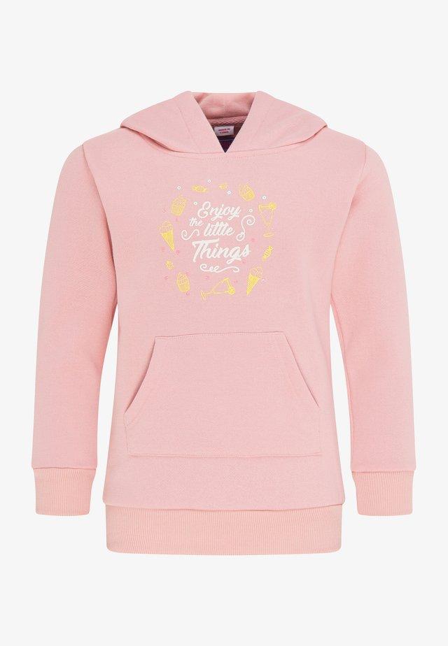Jersey con capucha - rosa