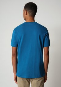 Napapijri - SALLAR - Print T-shirt - mykonos blue - 1