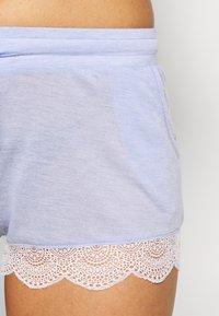 Etam - WARM DAY SHORT - Pantalón de pijama - bleu - 4