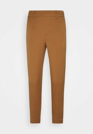 OBJLISA SLIM PANT - Trousers - chipmunk