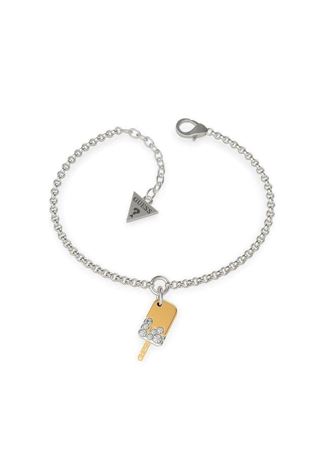 "BRACELET ""I MELT FOR YOU"" - Armband - silver"