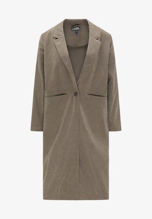 Classic coat - dark gray