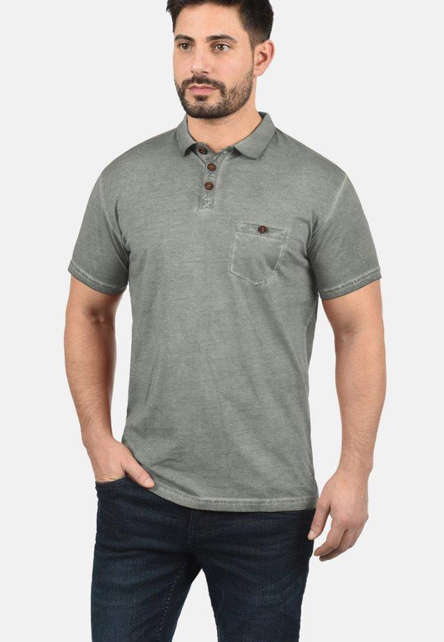 TERMANN - Polo - mid gray