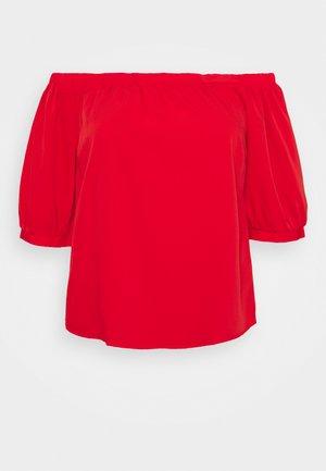 PUFF 3/4 SLEEVE BARDOT - Camicetta - bright red