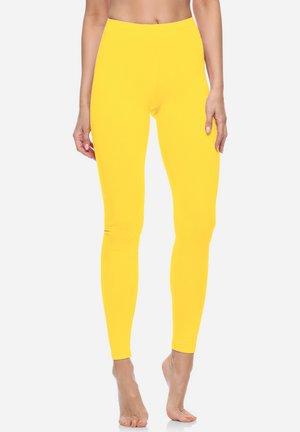 Legginsy - yellow