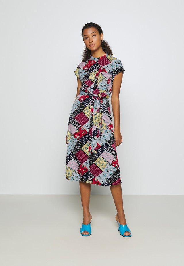 KOLBAN MAXI DRESS - Shirt dress - spring blue