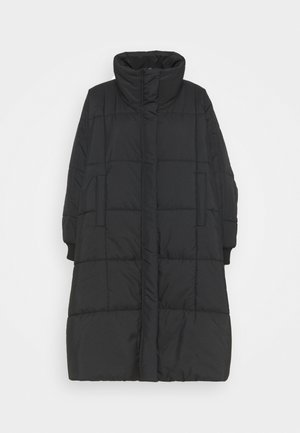 THE DUVET COAT - Classic coat - black