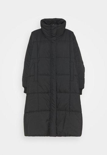 THE DUVET COAT - Klassinen takki - black