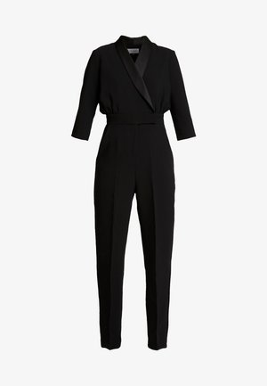 TUXEDO COLLAR - Jumpsuit - black